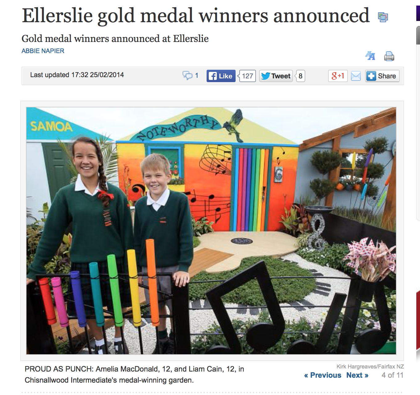 Ellerslie Newspaper